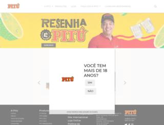 pitu.com.br screenshot
