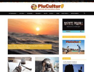 piuculture.it screenshot