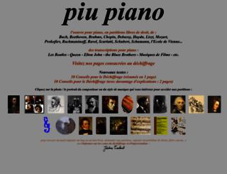 piupiano.com screenshot
