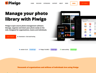 piwigo.org screenshot