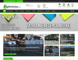 piwniczna.info screenshot