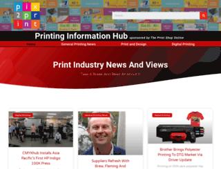 pix2print.com.au screenshot