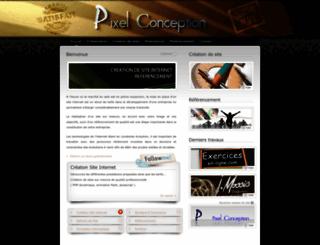 pixel-conception.com screenshot