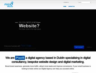 pixel8.ie screenshot