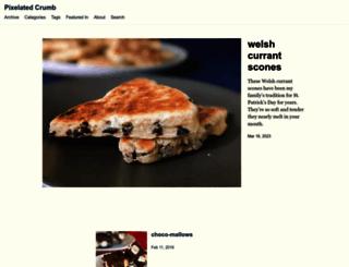 pixelatedcrumb.com screenshot