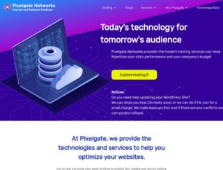 pixelgate.net screenshot