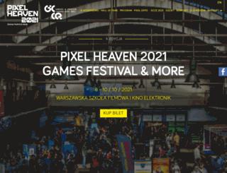 pixelheavenfest.com screenshot