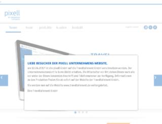 pixell.de screenshot