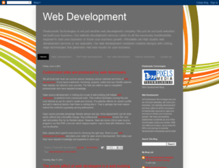 pixels-web-development.blogspot.com screenshot