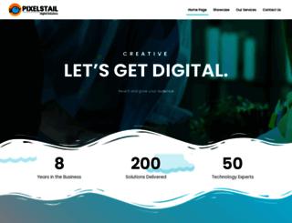 pixelstail.com screenshot