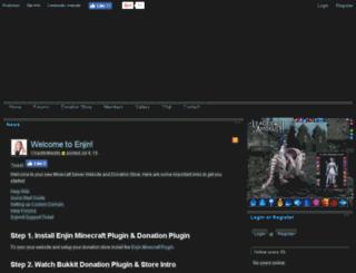 pixelymon.enjin.com screenshot