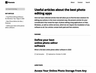 pixenate.com screenshot