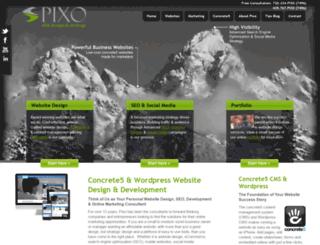pixoinc.com screenshot