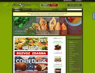 pizza4you.cz screenshot
