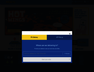 pizza73.com screenshot