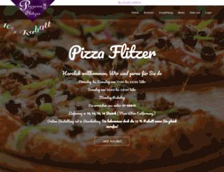 pizzaflitzer.at screenshot
