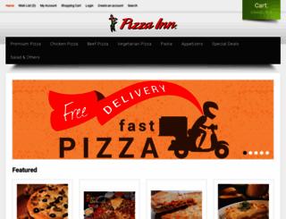 pizzainn.com.bd screenshot