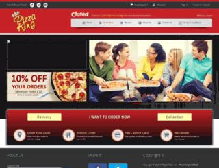 pizzakinghadfield.co.uk screenshot