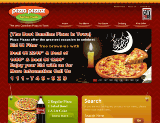 pizzapizzaz.com.pk screenshot