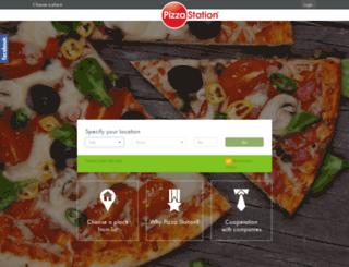 pizzastation.pl screenshot