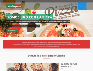 pizzonpizza.com screenshot