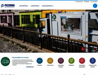 pizzorno.com screenshot
