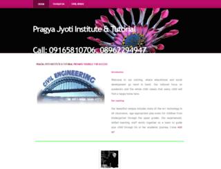 pjit.yolasite.com screenshot