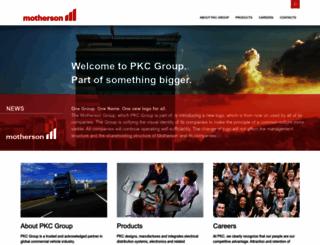 pkcgroup.com screenshot