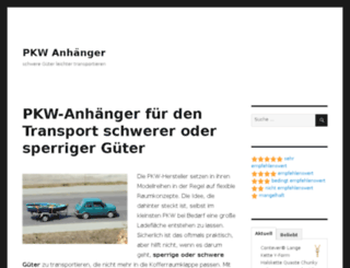 pkw-anhaenger.biz screenshot