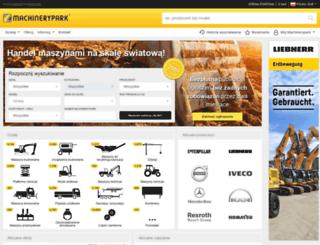 pl.machinerypark.com screenshot