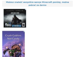 pl.minecraftx.org screenshot