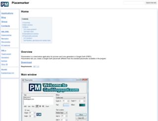 placemarker.geoblogspot.com screenshot
