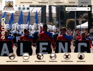 placentia.org screenshot