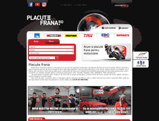 placute-frana.ro screenshot
