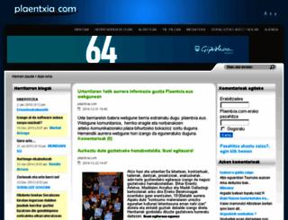 plaentxia.com screenshot