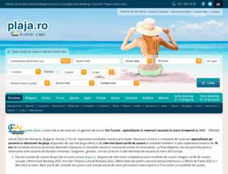 plaja.ro screenshot