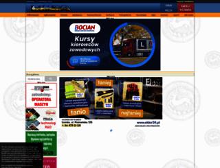 plakatowanie.4lomza.pl screenshot