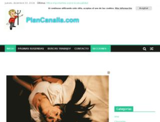 plancanalla.com screenshot