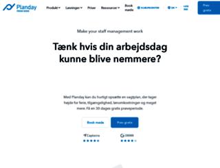 planday.dk screenshot