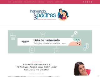 planeandoserpadres.com screenshot