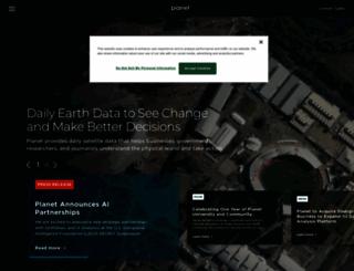 planet.com screenshot