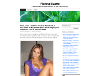 planetabizarro.wordpress.com screenshot