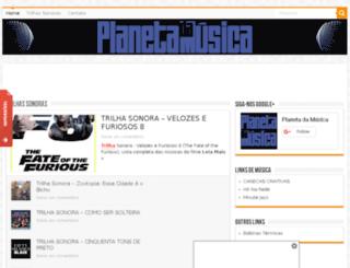 planetadamusica.com screenshot
