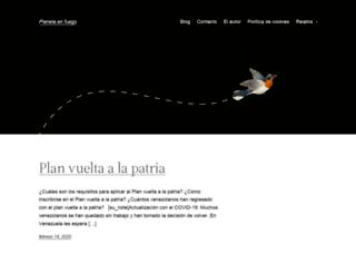 planetaenfuego.net screenshot