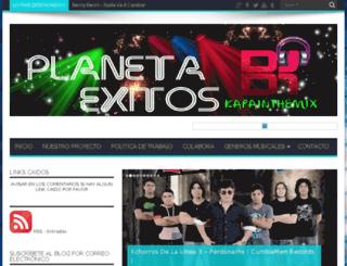 planetaexitos.com screenshot