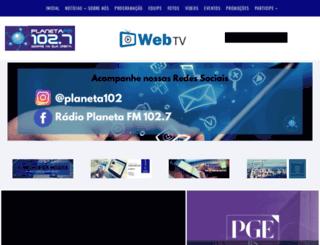 planetafm.com.br screenshot