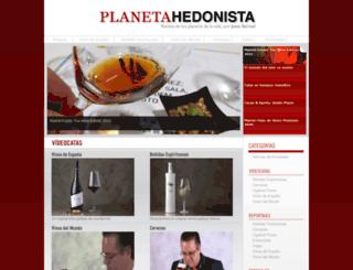 planetahedonista.com screenshot