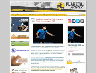 planetapadel.com screenshot