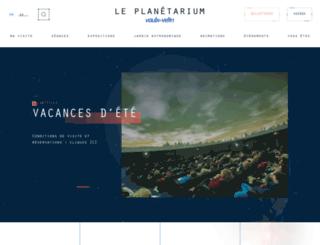 planetariumvv.com screenshot