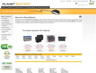 planetbattery.com screenshot